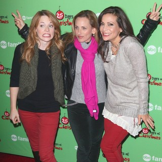 Katie Leclerc, Marlee Matlin, Constance Marie in ABC Family's 25 Days of Christmas Winter Wonderland Event
