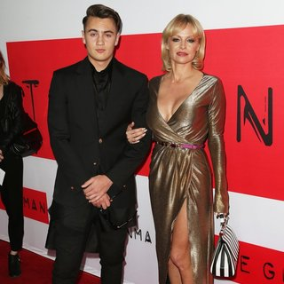 Brandon Thomas Lee, Pamela Anderson in Premiere of Open Road Films' The Gunman