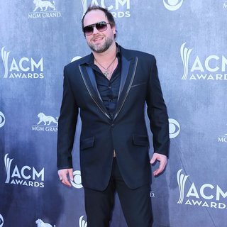 Lee Brice in 49th Annual Academy of Country Music Awards - Arrivals