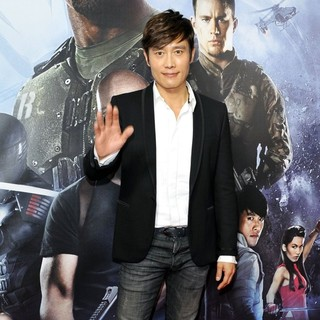 Lee Byung-hun in G.I. Joe: Retaliation - Sydney Premiere