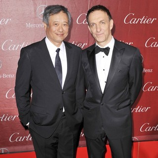 Ang Lee, Mychael Danna in 24th Annual Palm Springs International Film Festival Awards Gala - Red Carpet