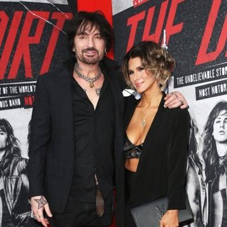 Tommy Lee, Brittany Furlan in Premiere of Netflix's The Dirt