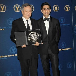 Ang Lee, Suraj Sharma in 65th Annual Directors Guild of America Awards - Press Room