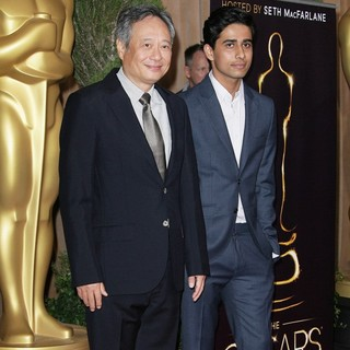 Ang Lee, Suraj Sharma in 85th Academy Awards Nominees Luncheon