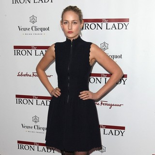 Leelee Sobieski in The New York Premiere of The Iron Lady