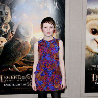 "Emily Browning in Los Angeles Premiere of ""Legend of the Guardians: The Owls of Ga'Hoole"""