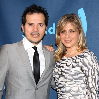 John Leguizamo, Justine Maurer in 24th Annual GLAAD Media Awards - Arrivals