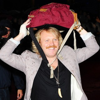 Leigh Francis in Abduction - UK Film Premiere - Arrivals