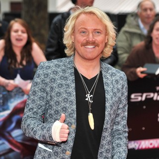 Leigh Francis in The Premiere of The Amazing Spider-Man