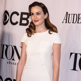 Leighton Meester in The 68th Annual Tony Awards - Arrivals