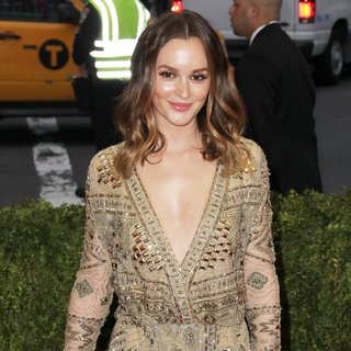 Leighton Meester in Charles James: Beyond Fashion Costume Institute Gala - Arrivals - leighton-meester-beyond-fashion-costume-institute-gala-03
