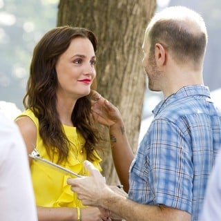 Leighton Meester in The First Day of Shooting The New Season of Gossip Girl