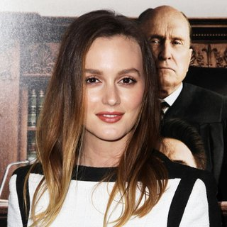 Leighton Meester in Premiere of Warner Bros. Pictures and Village Roadshow Pictures' The Judge - leighton-meester-premiere-the-judge-01