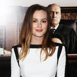 Leighton Meester in Premiere of Warner Bros. Pictures and Village Roadshow Pictures' The Judge - leighton-meester-premiere-the-judge-02