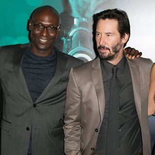 David Leitch, Lance Reddick, Keanu Reeves, Adrianne Palicki in Los Angeles Special Screening of John Wick