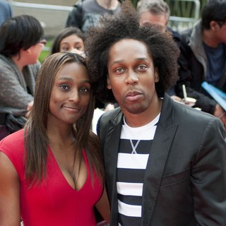 Lemar in The Premiere of The Amazing Spider-Man