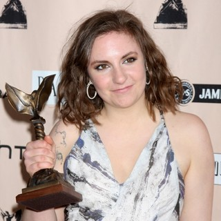 Lena Dunham in The 2011 Film Independent Spirit Awards - Press Room