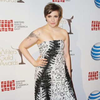 Lena Dunham in 2013 Writers Guild East Coast Awards Ceremony - Arrivals - lena-dunham-2013-writers-guild-east-coast-awards-ceremony-02