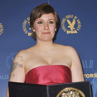 Lena Dunham in 65th Annual Directors Guild of America Awards - Press Room