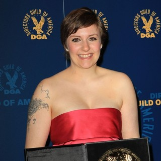 Lena Dunham in 65th Annual Directors Guild of America Awards - Press Room - lena-dunham-65th-annual-directors-guild-of-america-awards-press-room-03