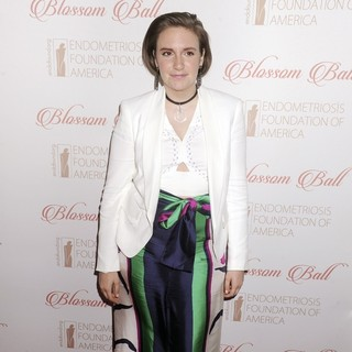 Lena Dunham - The 8th Annual Blossom Ball Benefiting the Endometriosis Foundation of America