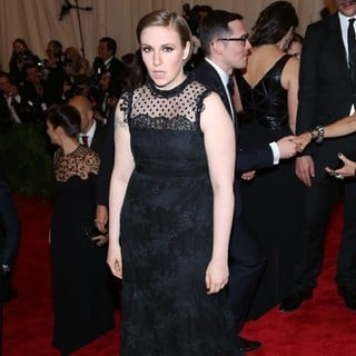 Lena Dunham in PUNK: Chaos to Couture Costume Institute Gala - lena-dunham-chaos-to-couture-costume-institute-gala-01