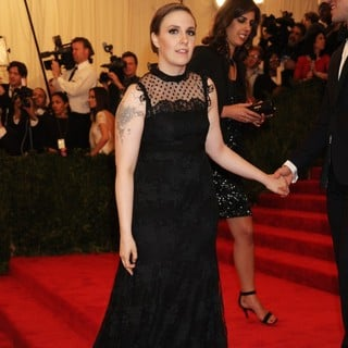 Lena Dunham in PUNK: Chaos to Couture Costume Institute Gala - lena-dunham-chaos-to-couture-costume-institute-gala-02