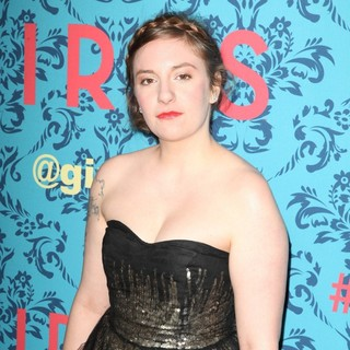 Lena Dunham in The New York Premiere of HBO's Girls
