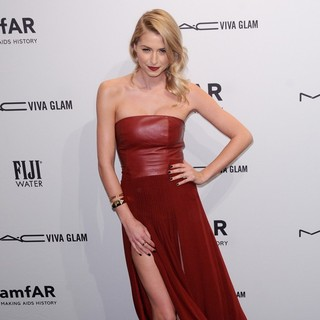 Lena Gercke in The amfAR Gala 2013