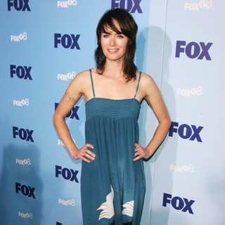 Lena Headey in 2008 FOX Upfront - Arrivals
