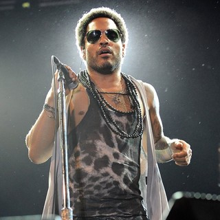 Lenny Kravitz Performs During 10 Giorni Suonati Festival