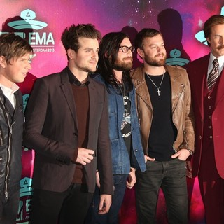 Kings of Leon, Will Ferrell in 20th MTV Europe Music Awards - Arrivals