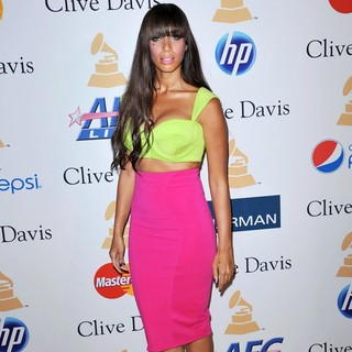 Leona Lewis in 2011 Pre-Grammy Gala and Salute to Industry Icons Honoring David Geffen - Arrivals