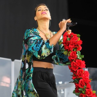 Leona Lewis in BBC Radio 1's Hackney Weekend - Day 1