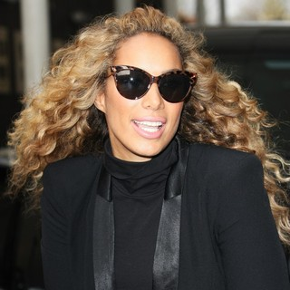 Leona Lewis in Leona Lewis Leaving The ITV Studios