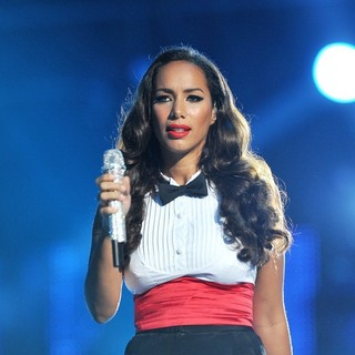 Leona Lewis in Michael Jackson Tribute Concert Held at The Cardiff Millenium Stadium