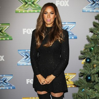 Leona Lewis in The X Factor Season 3 Finale - Arrivals
