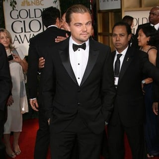 Leonardo DiCaprio in The 69th Annual Golden Globe Awards - Arrivals