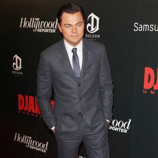 Leonardo DiCaprio in The Premiere of Django Unchained