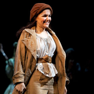 Samantha Barks in The Curtain Call for 'Les Miserables'