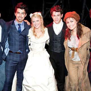 Jonas Brothers - The Curtain Call for 'Les Miserables'