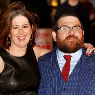 Christina Lesbirel, Nick Frost in World Premiere of Cuban Fury - Arrivals