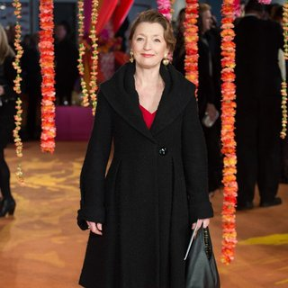Lesley Manville in UK Premiere The Second Best Exotic Marigold Hotel - Arrivals