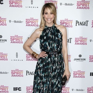 Leslie Bibb in 2013 Film Independent Spirit Awards - Arrivals