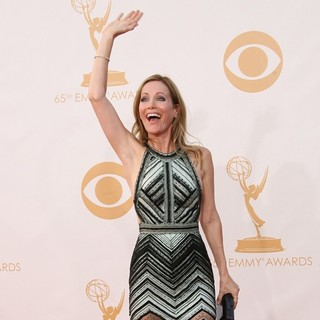 Leslie Mann in 65th Annual Primetime Emmy Awards - Arrivals