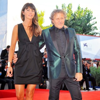 Arianna Lessi, Renzo Rosso in The 69th Venice Film Festival - The Reluctant Fundamentalist - Premiere - Red Carpet