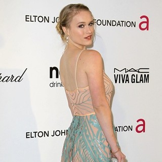 Leven Rambin in 21st Annual Elton John AIDS Foundation's Oscar Viewing Party