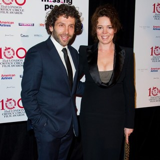 Elliot Levey, Olivia Colman in The London Critics' Circle Film Awards
