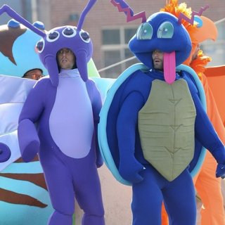 Jesse Carmichael, Adam Levine, Maroon 5 in Adam Levine and Jesse Carmichael Dresses as A Pokemon for Maroon 5 Music Video