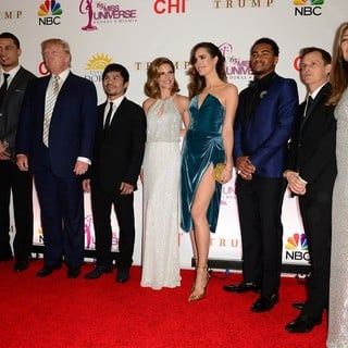 William Levy, Kristin Cavallari, Giancarlo Stanton, Donald Trump, Manny Pacquiao, Natalie Morales, Louise Roe, DeSean Jackson, Rob Dyrdek, Nina Garcia in The 63rd Annual Miss Universe Pageant - Red Carpet Arrivals